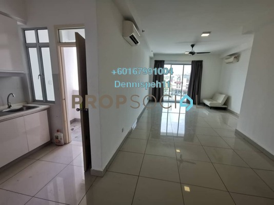 Condominium For Sale in Austin Suites, Tebrau Freehold Semi Furnished 2R/2B 350k