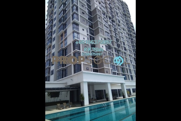 Serviced Residence For Sale in Taman Shamelin Perkasa, Cheras Freehold Semi Furnished 3R/2B 618k
