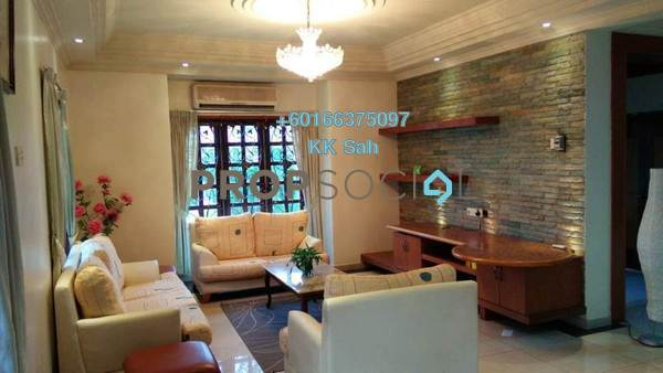 Bungalow For Sale in Taman Bukit Saga, Shah Alam Freehold Fully Furnished 6R/5B 2.19m