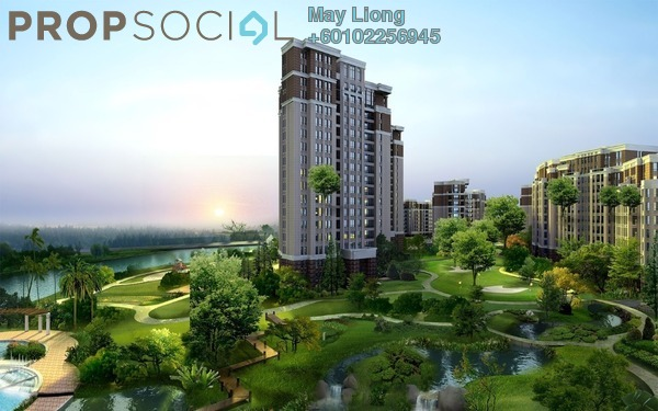 Condominium For Sale in Serin Residency, Cyberjaya Freehold Semi Furnished 5R/3B 650k