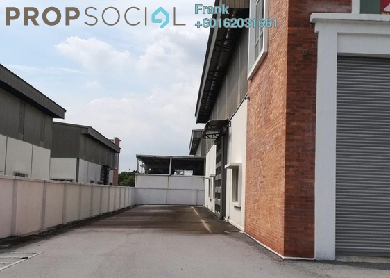 Factory For Sale in RCI Park, Rawang Freehold Unfurnished 0R/0B 2.98m