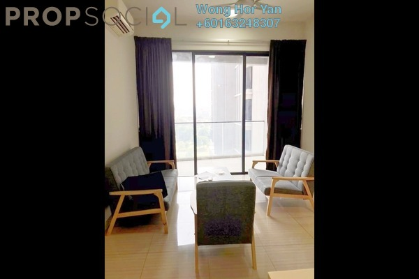 Condominium For Rent in Twin Arkz, Bukit Jalil Freehold Semi Furnished 2R/1B 2.4k