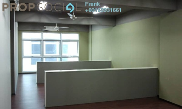 Office For Sale in SunwayMas Commercial Centre, Kelana Jaya Freehold Semi Furnished 0R/0B 600k