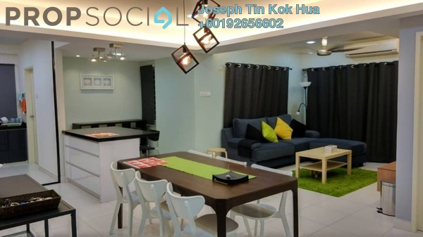 Condominium For Sale in Casa Tropika, Puchong Freehold Fully Furnished 3R/2B 500k