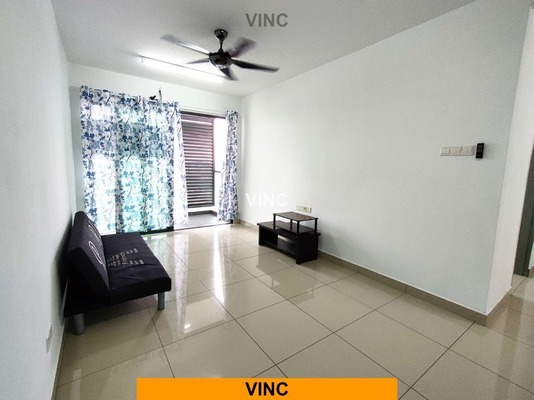 Condominium For Rent in KL Palace Court, Kuchai Lama Freehold Semi Furnished 3R/3B 1.5k