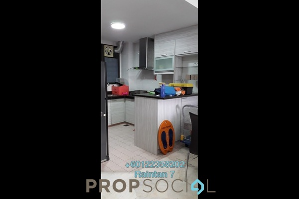 Condominium For Rent in Petaling Indah, Sungai Besi Freehold Semi Furnished 3R/2B 1.1k