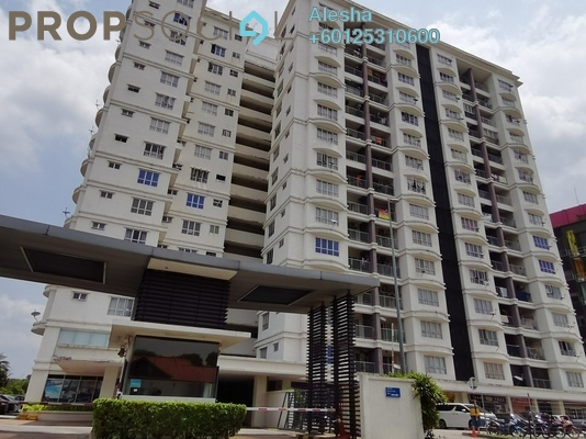 Serviced Residence For Sale in Suri Puteri, Shah Alam Freehold Unfurnished 3R/2B 380k