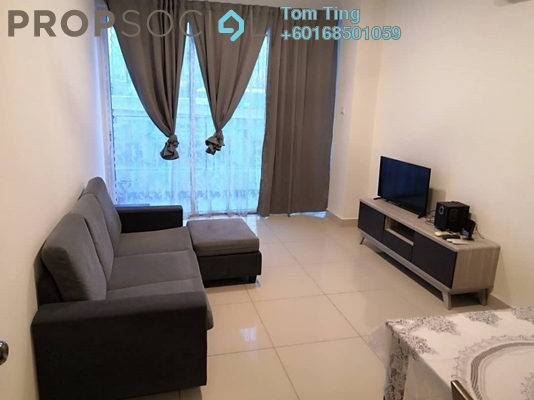 Condominium For Rent in Jazz Residences @ Pacific Place, Ara Damansara Freehold Fully Furnished 2R/1B 1.5k