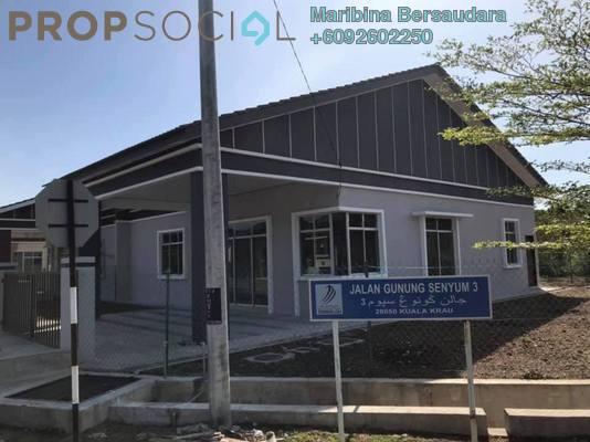 Semi-Detached For Sale in Taman Eko Gunung Senyum, Kuala Krai Leasehold Unfurnished 3R/2B 255k