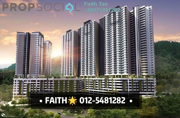 Condominium For Sale in The Stone, Paya Terubong Freehold Unfurnished 3R/2B 408k