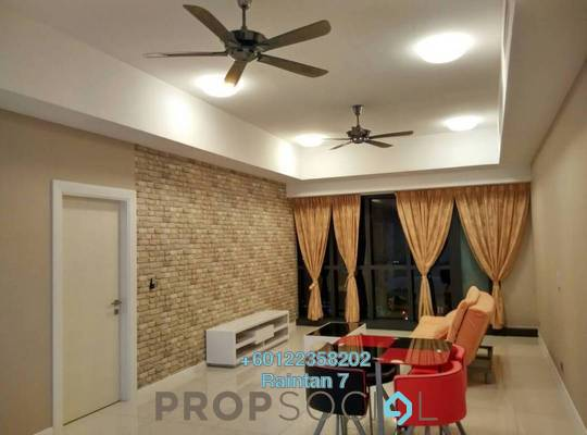 Serviced Residence For Sale in M City, Ampang Hilir Freehold Semi Furnished 1R/1B 708k