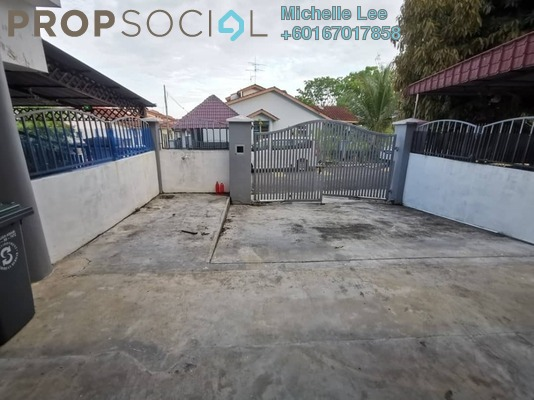 Terrace For Rent in Taman Bestari Indah, Ulu Tiram Freehold Semi Furnished 4R/3B 1.2k
