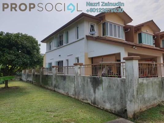 Terrace For Sale in BP10, Bandar Bukit Puchong Freehold Semi Furnished 4R/3B 855k