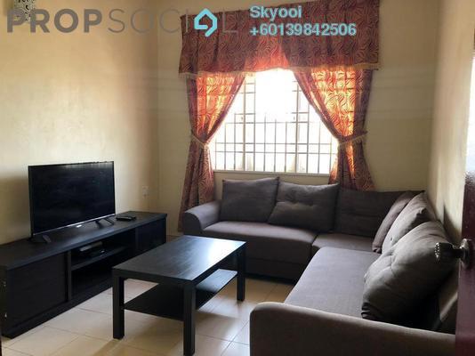 Condominium For Rent in Kelisa Apartment, Seberang Jaya Freehold Fully Furnished 3R/2B 1.1k