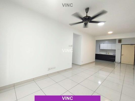 Condominium For Rent in Spring Avenue, Kuchai Lama Freehold Semi Furnished 3R/2B 1.6k