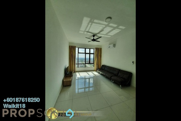 Condominium For Rent in D'Summit Residences, Skudai Freehold Fully Furnished 3R/2B 1.3k