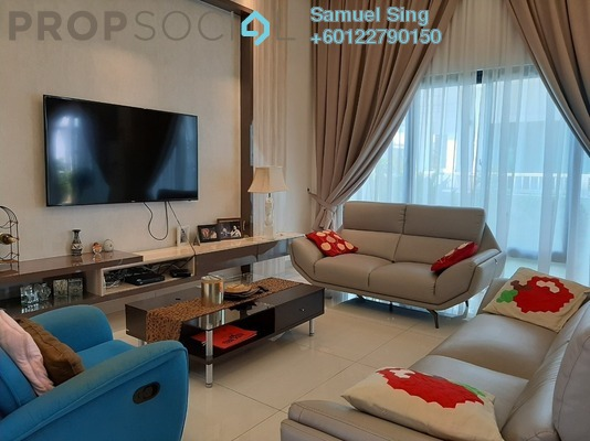 Semi-Detached For Sale in Corallia @ D'Island, Puchong Freehold Semi Furnished 6R/6B 1.7m