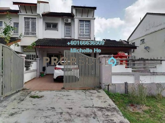 Terrace For Sale in Taman Setia Indah, Johor Bahru Freehold Semi Furnished 4R/3B 560k