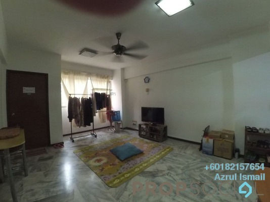 Apartment For Sale in Tasik Heights Apartment, Bandar Tasik Selatan Freehold Semi Furnished 3R/2B 270k