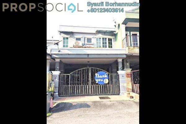 Terrace For Sale in Taman Sri Haneco, Semenyih Freehold Unfurnished 3R/3B 365k