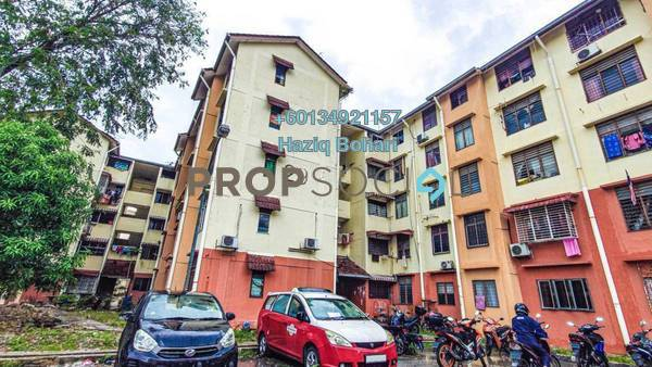 Apartment For Sale in Taman Sri Sentosa, Old Klang Road Freehold Semi Furnished 3R/2B 155k