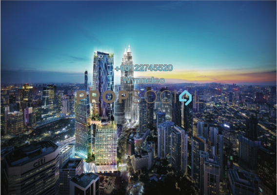 Serviced Residence For Sale in Oxley Towers, Kuala Lumpur Freehold Fully Furnished 1R/1B 1.2m