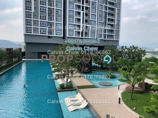 Serviced Residence For Sale in EcoSky, Kuala Lumpur Freehold Unfurnished 3R/2B 576k