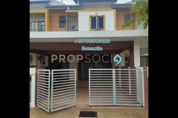 Terrace For Sale in Cempaka 1, Kota Seriemas Freehold Unfurnished 4R/3B 570k