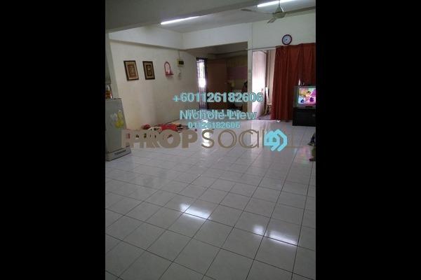 Apartment For Sale in Taman Orkid, Batu 9 Cheras Freehold Semi Furnished 3R/2B 250k
