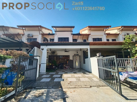 Terrace For Sale in Bandar Nusa Rhu, Shah Alam Freehold Semi Furnished 4R/3B 580k