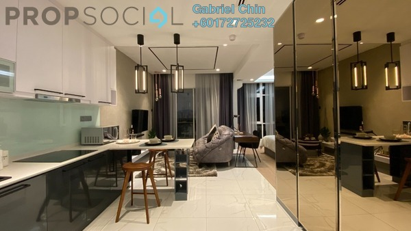 SoHo/Studio For Sale in Residensi 38, Bangsar Leasehold Semi Furnished 1R/1B 618k