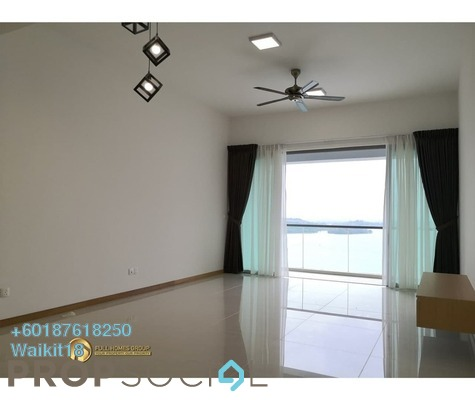 Condominium For Rent in Southern Marina Residences, Puteri Harbour Freehold Semi Furnished 3R/2B 2k