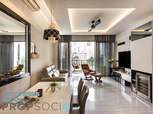 Condominium For Sale in Palmville, Bandar Sunway Freehold Fully Furnished 2R/2B 260k