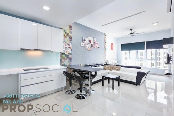 Condominium For Sale in Star Residences, Kuala Lumpur Freehold Fully Furnished 2R/2B 260k