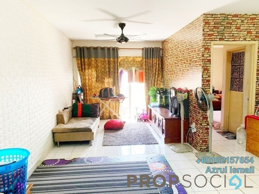 Apartment For Sale in Flora Damansara, Damansara Perdana Freehold Semi Furnished 3R/2B 220k