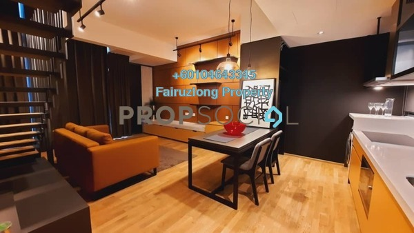 Condominium For Rent in TWY Mont Kiara, Mont Kiara Freehold Fully Furnished 2R/1B 3.2k