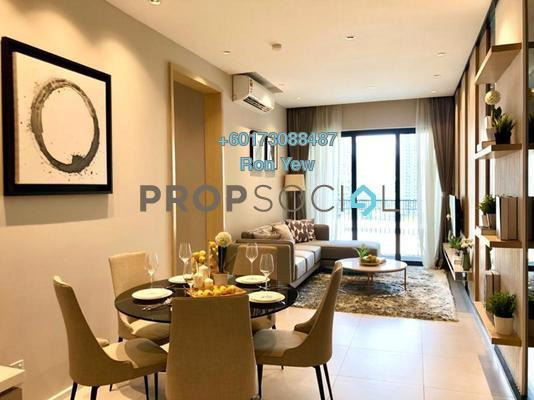 Serviced Residence For Sale in The Goodwood Residence, Bangsar South Leasehold Semi Furnished 3R/2B 690k