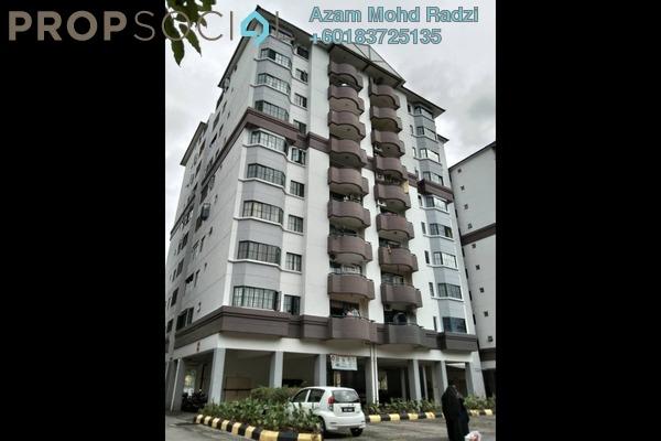 Condominium For Rent in Idaman Putera, Setapak Freehold Semi Furnished 3R/3B 1.5k