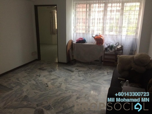 Apartment For Sale in Tasik Heights Apartment, Bandar Tasik Selatan Freehold Semi Furnished 3R/2B 265k