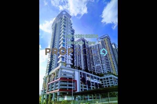 Serviced Residence For Sale in You City, Batu 9 Cheras Freehold Semi Furnished 1R/2B 430k