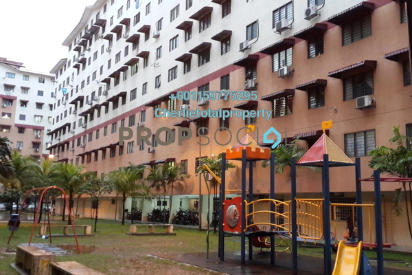 Apartment For Rent in Aman Putra Apartment, Jinjang Freehold Semi Furnished 3R/2B 750translationmissing:en.pricing.unit