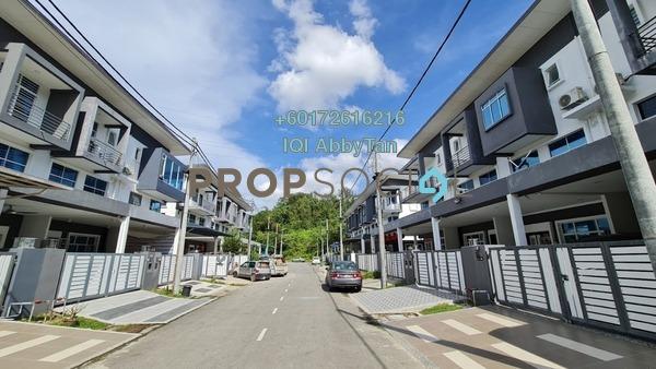 Terrace For Sale in Taman Gayamas, Kota Kinabalu Freehold Semi Furnished 3R/4B 700k