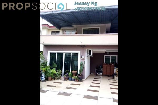 Terrace For Sale in Halaman Meru Impian, Ipoh Leasehold Semi Furnished 3R/2B 278k