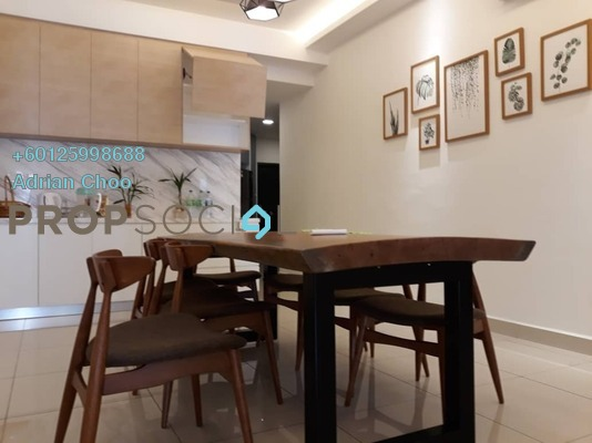 Condominium For Rent in The Clovers, Sungai Ara Freehold Fully Furnished 4R/3B 2.5k