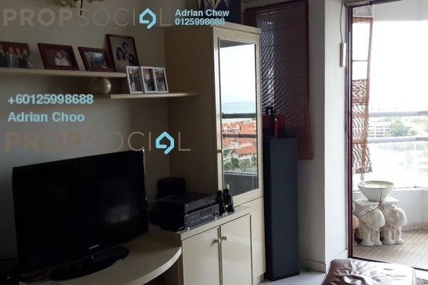 Condominium For Sale in Marina Bay, Tanjung Tokong Freehold Semi Furnished 3R/2B 595k