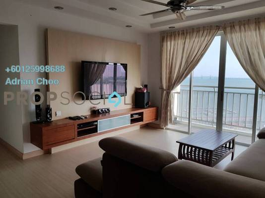 Condominium For Rent in The Spring, Jelutong Freehold Fully Furnished 4R/2B 2.4k