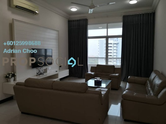 Condominium For Rent in Fettes Residences, Tanjung Tokong Freehold Fully Furnished 5R/4B 3.8k