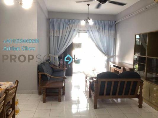Apartment For Rent in Desa Permai Indah, Sungai Dua Freehold Fully Furnished 3R/2B 1k