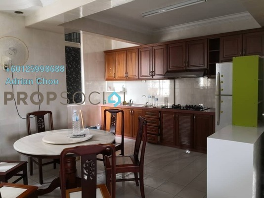 Apartment For Sale in Taman Pekaka, Sungai Dua Freehold Fully Furnished 3R/2B 420k
