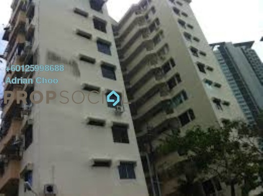 Condominium For Rent in Marine Mansion, Tanjung Bungah Freehold Fully Furnished 3R/2B 1.2k